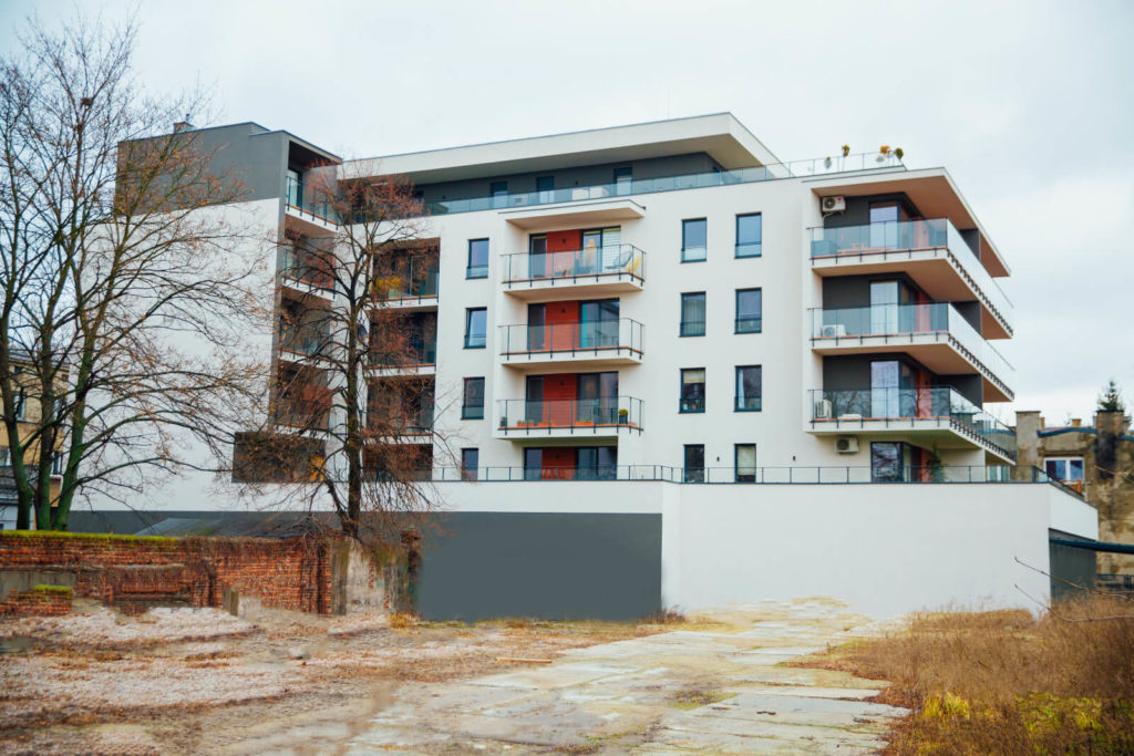 budowa apartamentowca ul. Radwańska Łódź