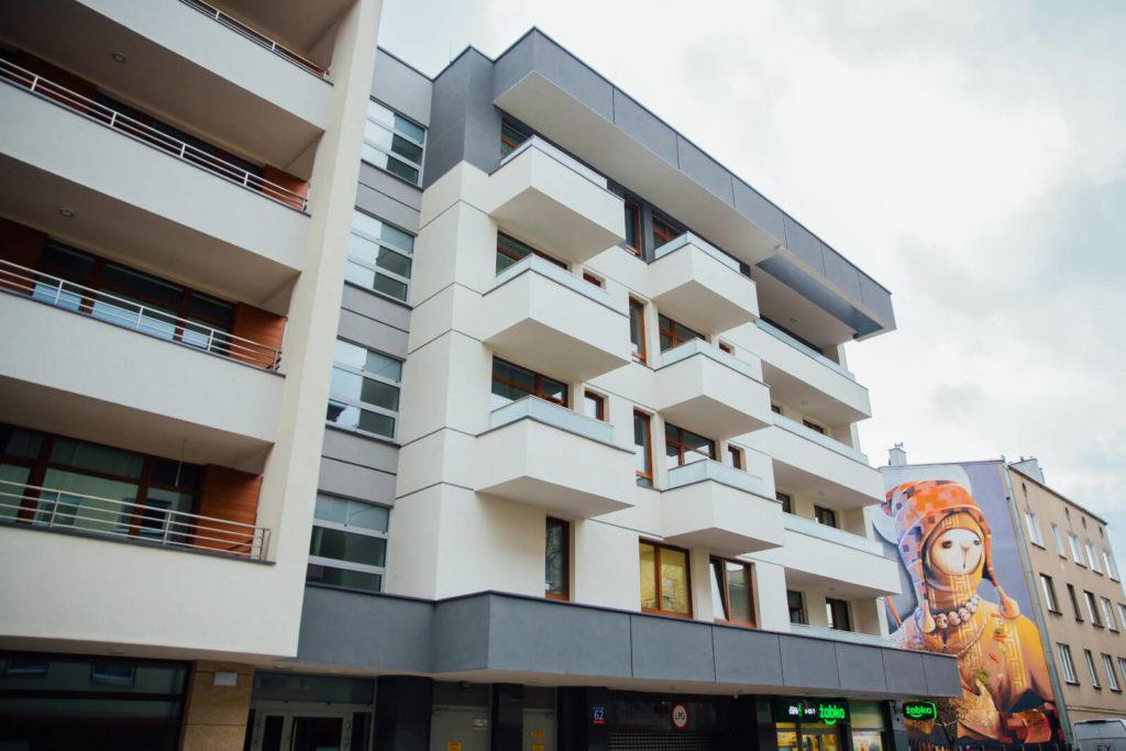budowa apartamentowca Łódź