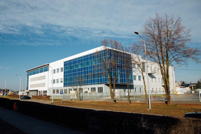 budowa budynku produkcyjnego Medana Pharma