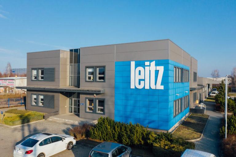 budowa budynek biurowo-magazynowy Leitz Polska