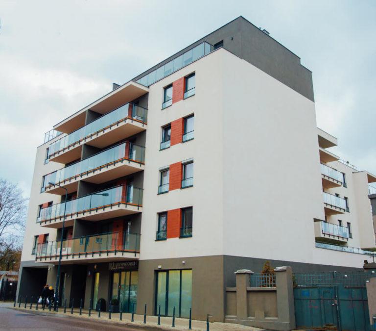 budowa budynku mieszkalnego w Łodzi