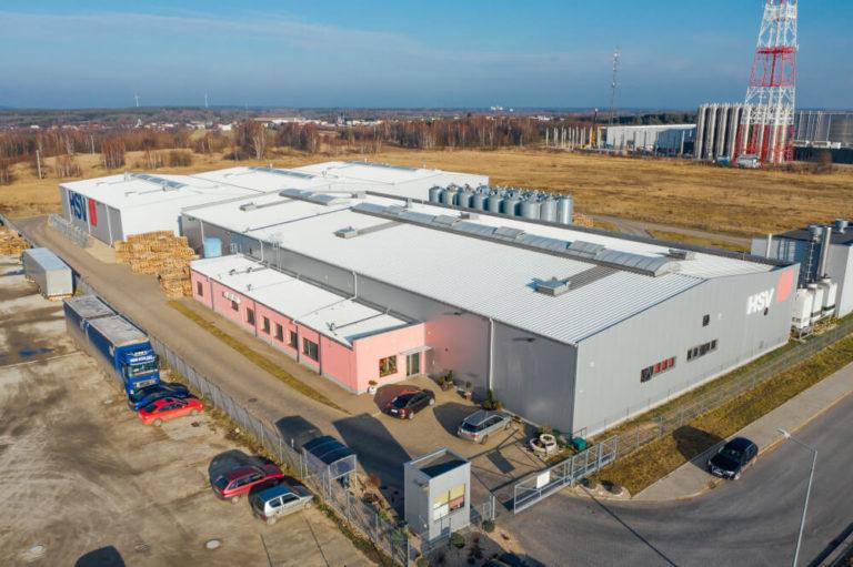 budowa budynku produkcyjno-magazynowego HSV