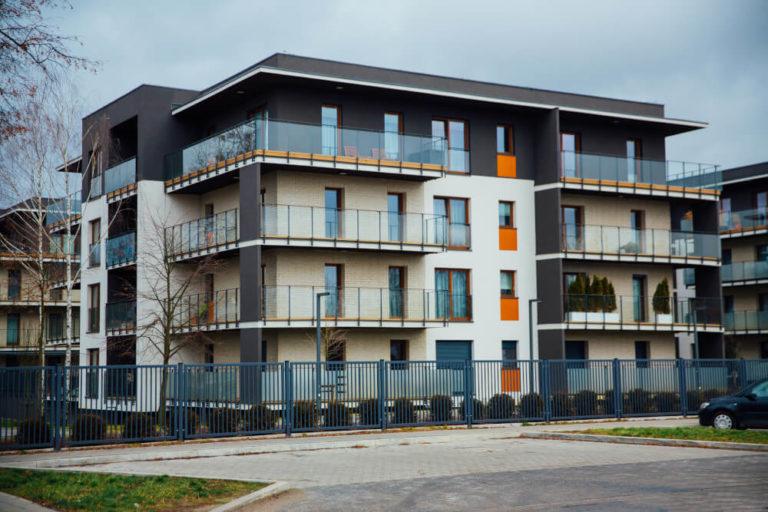 budowa osiedla mieszkaniowego Łódź