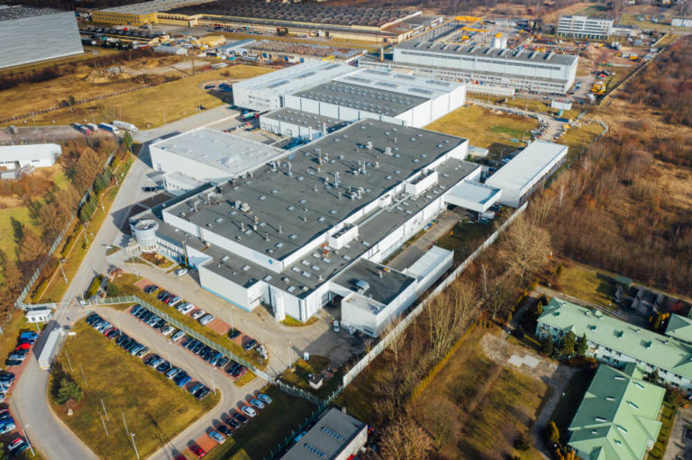 przebudowa hali produkcyjnej Ardagh Metal