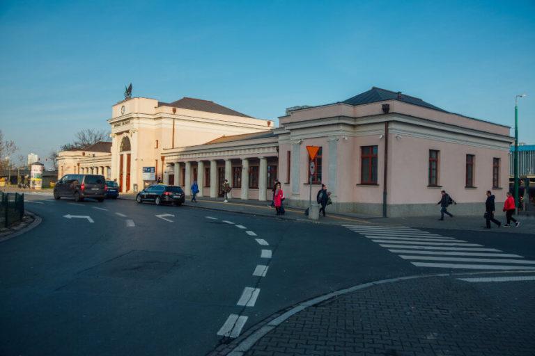 remont zabytkowego dworca Poznań