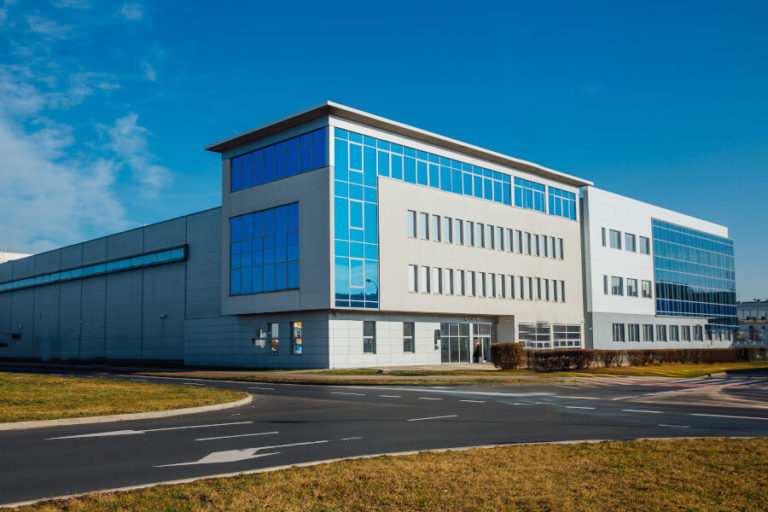 rozbudowa budynku biurowo-magazynowego Medana Pharma