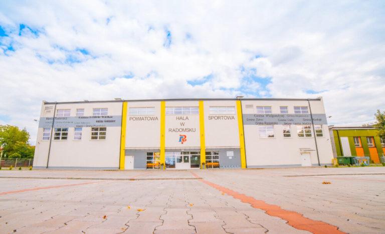 zaprojektuj-wybuduj budowa hali sportowej Radomsko