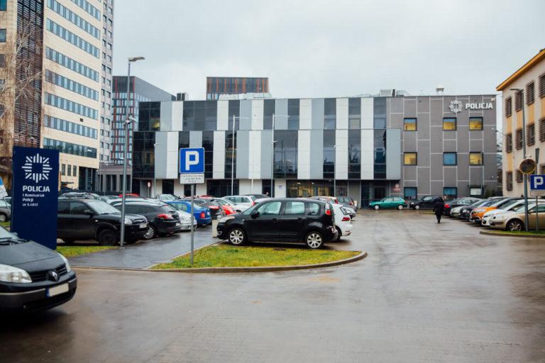 zaprojektuj wybuduj komenda wojewódzka policji w Łodzi
