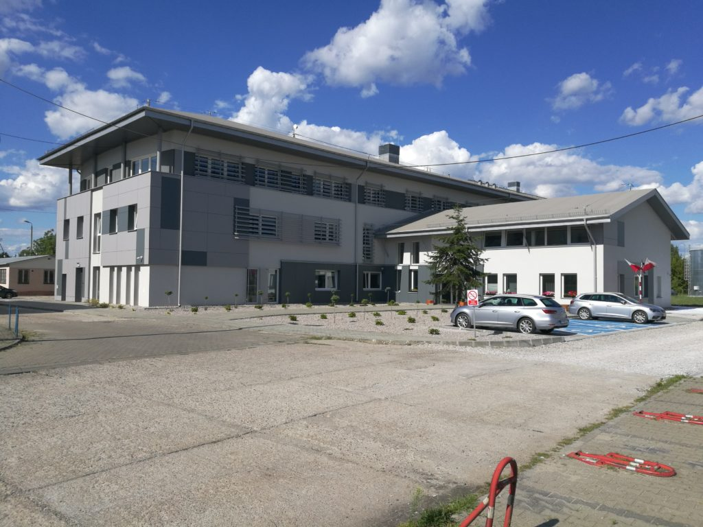 przebudowa budynek biurowy